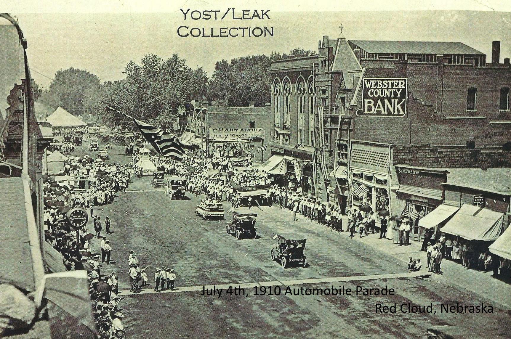 1910 Auto parade