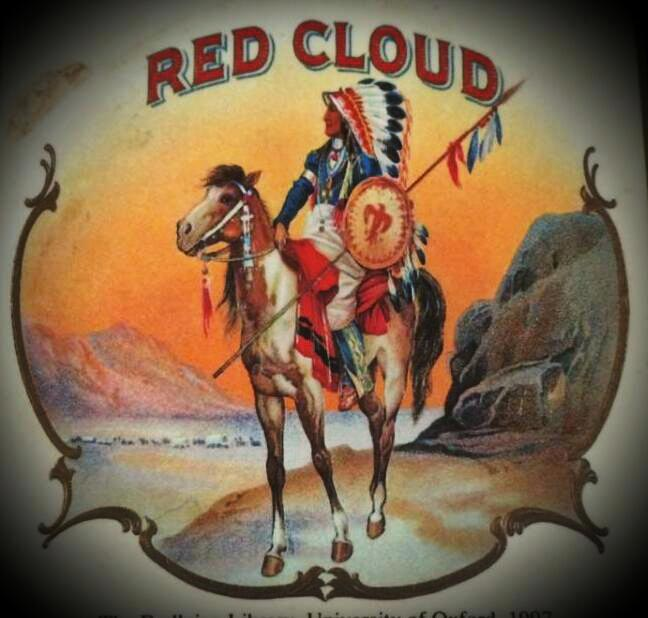Cigar Label - Red Cloud