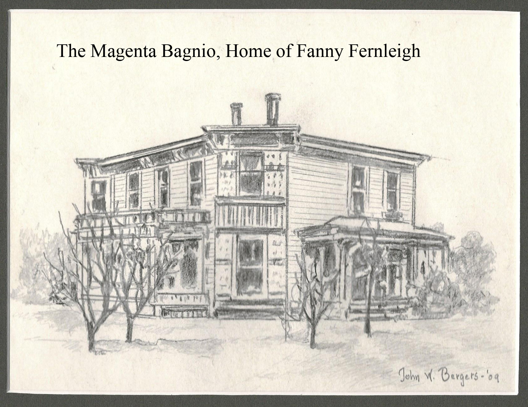 Magenta Bagnio, Home of Fanny Fernleigh copy