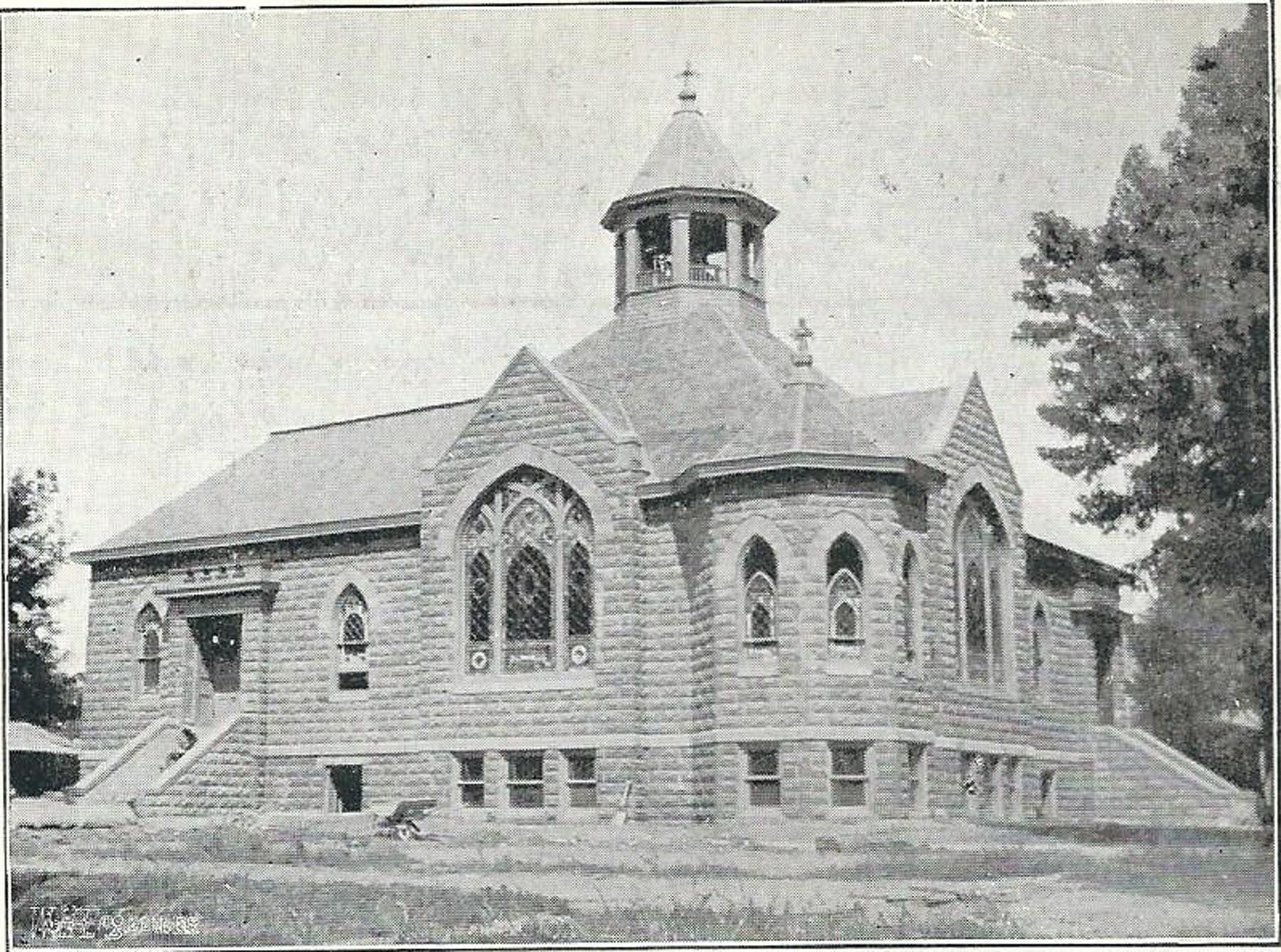 RC Methodist Church in 1905