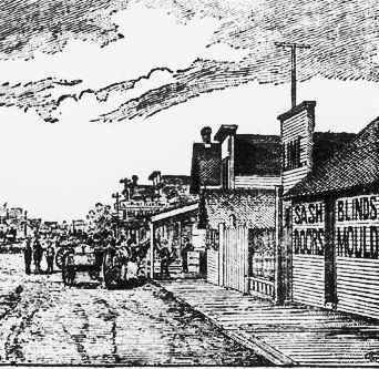 Webster_Street_looking_north_Red_Cloud_NE_etching