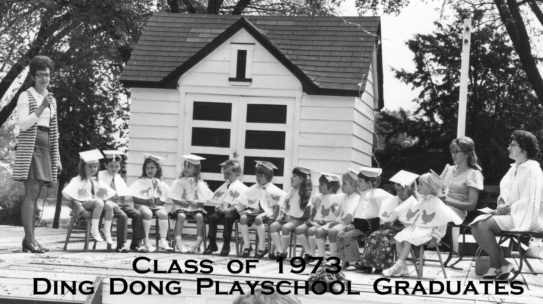 img014- 1973 DD Playschool Graduates - labeled
