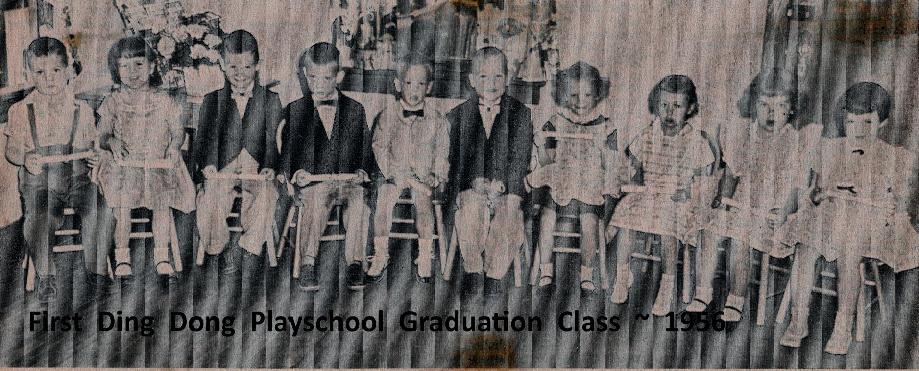 img015- 1956 Ding Dong Playschool Graduation Class