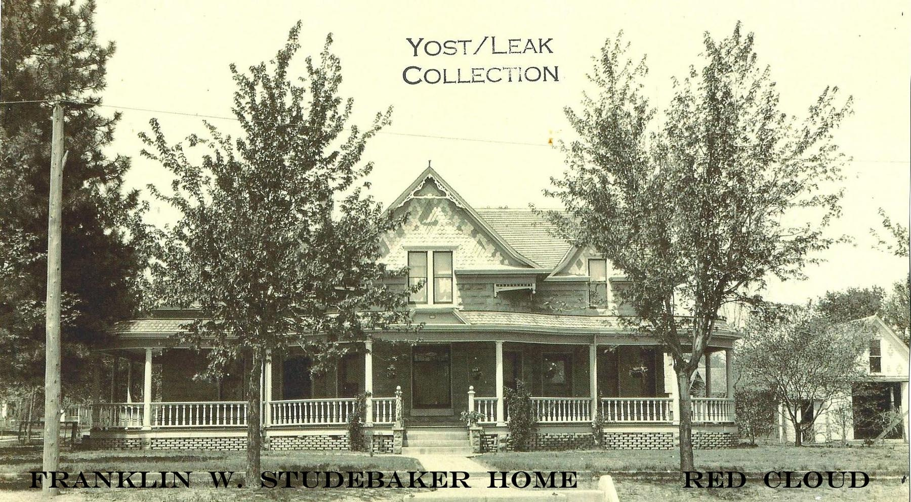 labeled Studebaker Home