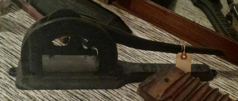 plug cutter for tobacco